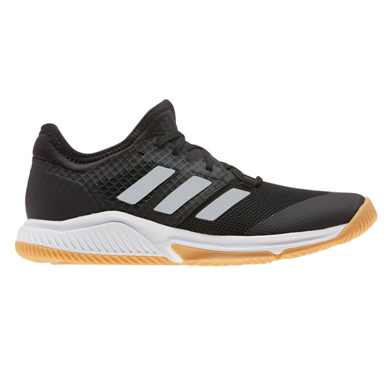 Adidas Court Team Bounce Womens Indoor Court Shoes (Black)
