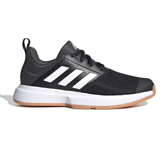 Adidas Essence Court Shoes (Core Black)