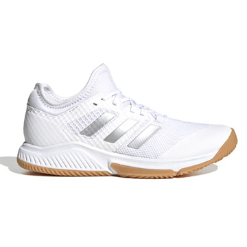 Adidas Court Team Bounce Womens Indoor Court Shoes (White)