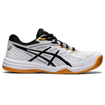 Asics Gel Upcourt 4 Mens Court Shoes (White-Black)