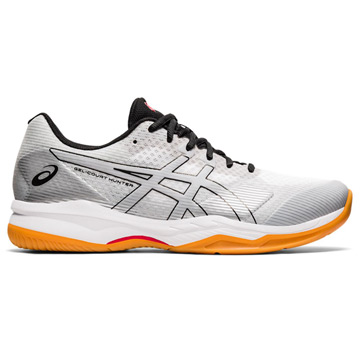 Asics Gel Hunter 3 Mens Court Shoes (White-Piedmont Grey)