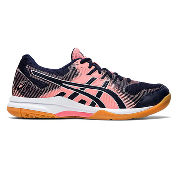 Asics Gel Rocket 9 Womens Court Shoes (Guava-Midnight)