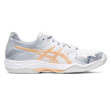 Asics Gel Tactic Womens Court Shoes (White-Rose)