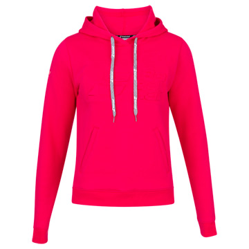 Babolat Exercise Women Hooded Sweat Top (Red Rose)