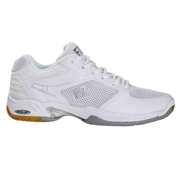 Forza Fierce F V2 Womens Badminton Shoes (White)