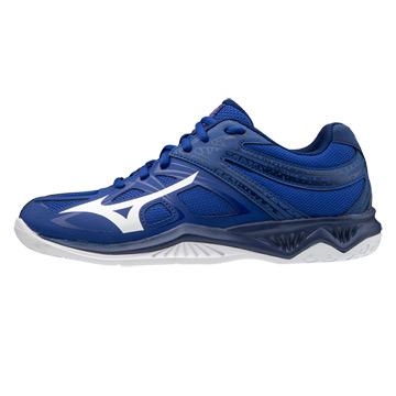 Mizuno Lightning Star Z5 Junior Court Shoes (Reflex Blue/White)