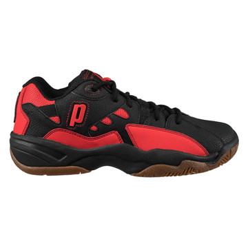 Prince NFS Indoor II Court Shoes (Black-Red)