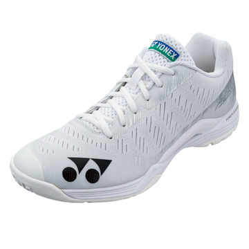 Yonex 75th Anniversary Power Cushion Aerus Z Womens Badminton Shoes (White)
