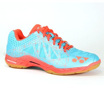Yonex Power Cushion Aerus 2 Womens Badminton Shoes (Mint-Coral)