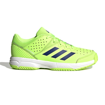 Adidas Court Stabil Junior Indoor Shoes (Signal Green)